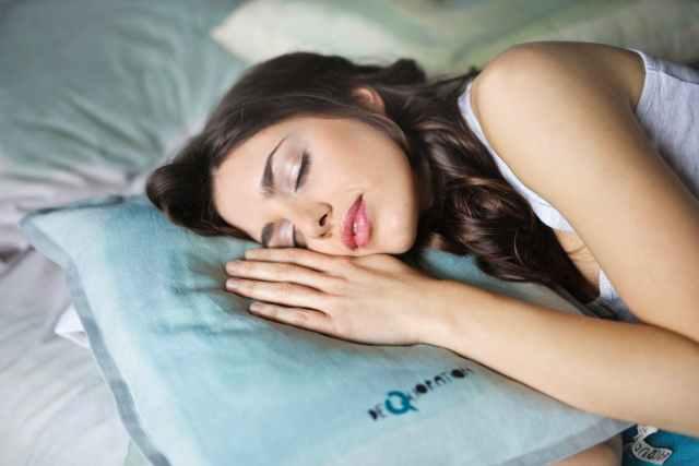 Happy sleeping