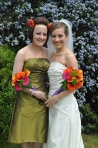 115 Bride & Bridesmaid