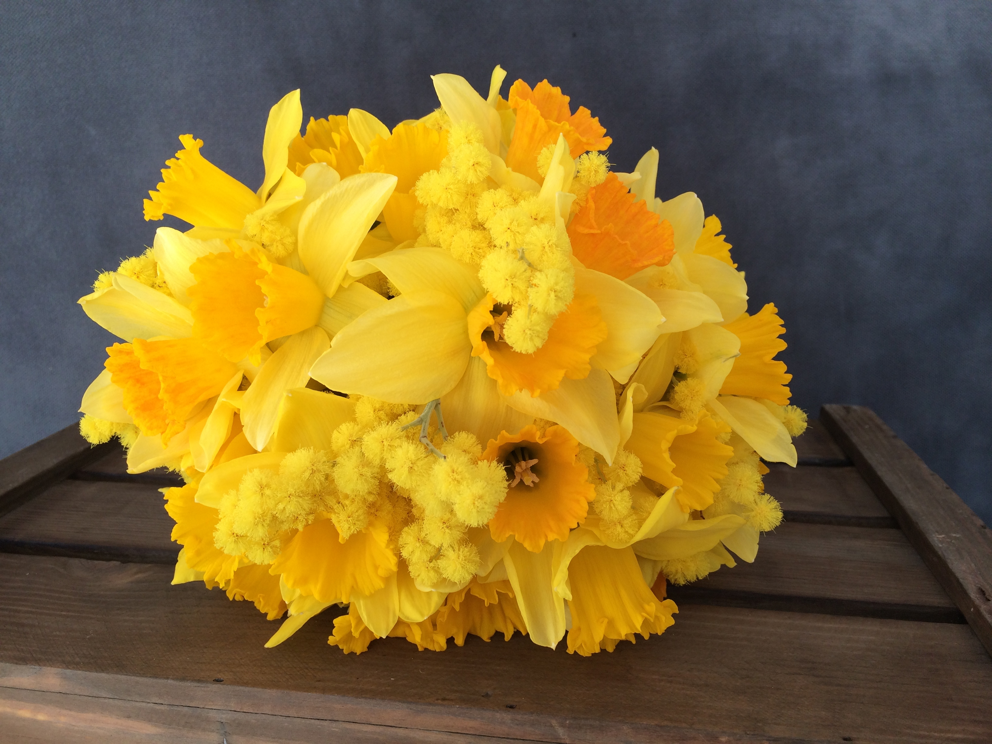 Wales Meets Australia Wedding Flowers