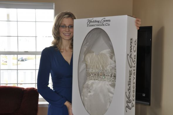 How To Keep Your Wedding Dress Clean