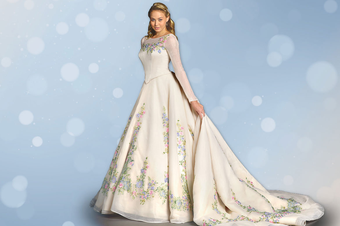 """First Look: Alfred Angelo's New """"Cinderella"""" Wedding Gown"""