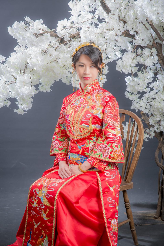 中式新娘髮型[新秘老師-寶兒]