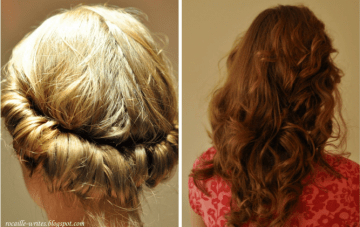 Fantastic Easy Hairstyle for the DIY Bride/Bridesmaid {Sunday Beauty School}