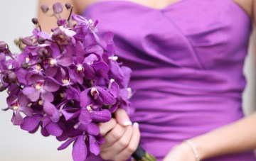 purple bouquet   Laura Murray Photography