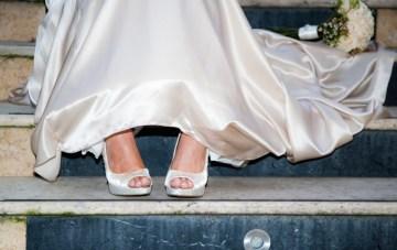 A Stylish, Joyful, Purple Wedding {Part 1}