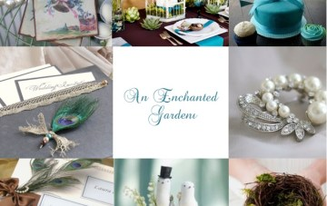 Enchanted Garden Wedding Inspiration by Lovely Favours