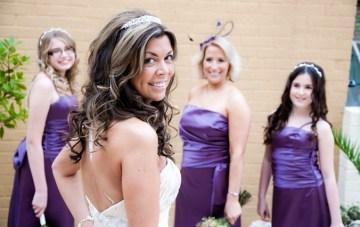 bride & bridesmaids | Katherine Ashdown Photography