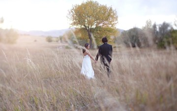 Day After The Wedding Shoot: Field Of Dreams