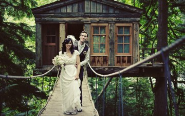 A Cool & Quirky Tree House Wedding {Part 2}