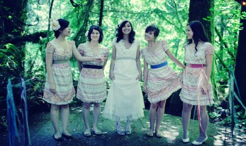 bride and bridesmaids | ben blood photography