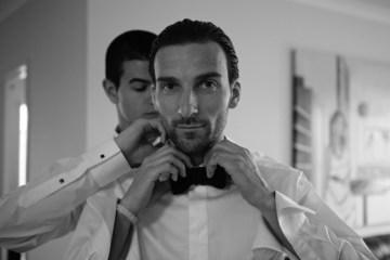 bow tie groom | britt spring photography