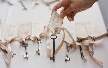 10 Creative Ways To Incorporate Keys Into Your Wedding