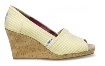 Tuesday Shoesday ~ TOMS Wedges