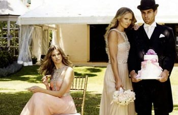 Stunning Wedding Dresses For Fashionista Brides by Rachel Gilbert