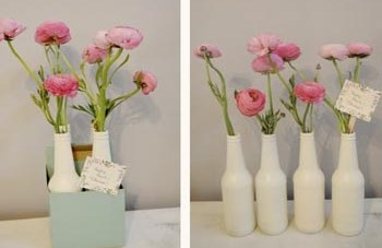 Bright & Modern DIY Table Center Piece Idea