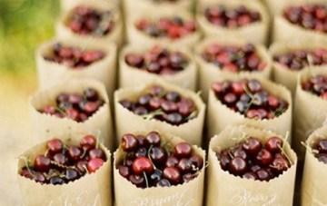 Summer Berries Wedding Inspiration Board
