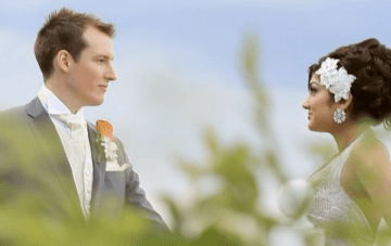 A Glamourous Fusion Wedding Film With A Game Of 'Mr & Mrs'