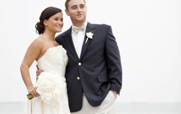 Navy & Yellow Nautical Wedding: Preppy, Classy & Fun {Part 2}