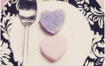 Simple DIY: Heart Shaped Sugar Cubes