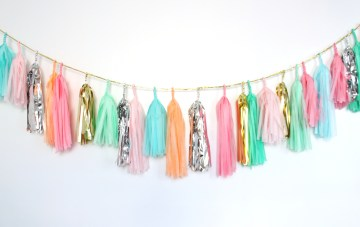 Tassel Garland ~ BUY or DIY?
