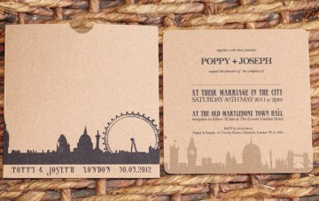 Cool, Quirky & Unique Wedding Stationary by Artcadia
