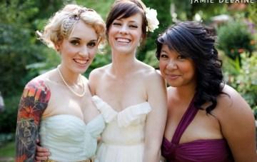 A DIY Modern Vintage Wedding Full of Love, Colour & Geekiness {Part 2}