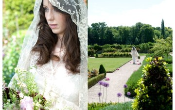 An Enchanting Secret Garden Inspiration Shoot: Lovely in Lace