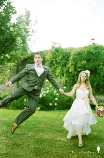 fun bride and groom   jean ashton pierre