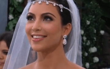 Kim Kardashian's Lavish Black & White Wedding {Video Footage}