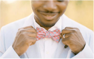 How To Tie A Bow Tie {Groomly Musings}