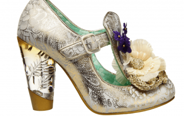 Tuesday Shoesday: Unique Perspex Heels & Corsages