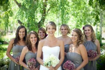 pewter bridesmaid dress   j shipley photography