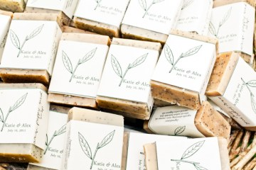 soap wedding favors | keira lemonis photography