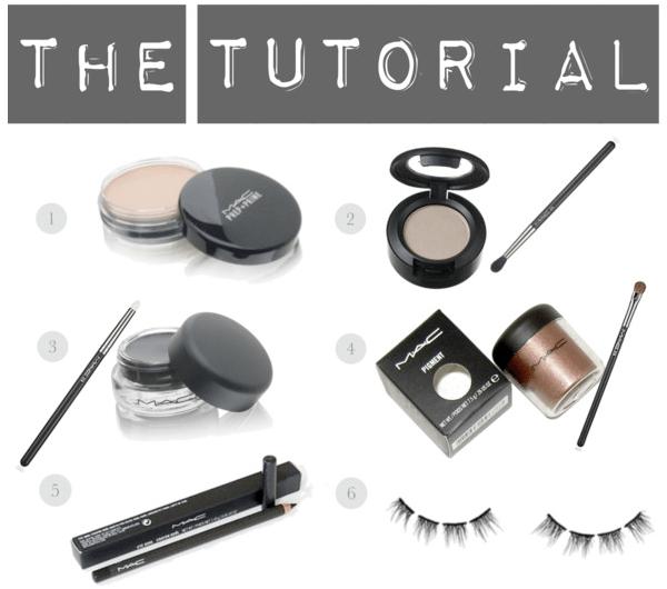 Makeup Tutorial: ShimmeringBrown