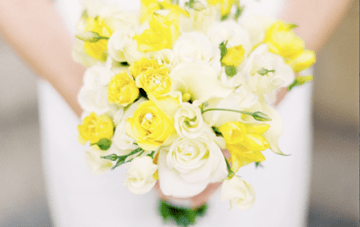 Scottish Sunshine Wedding: Yellow Roses & Charcoal Grey Tartan {2}