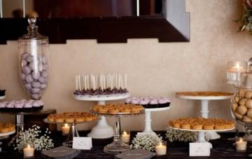 wedding dessert table   erin johnson photography