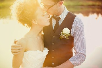 fashionable bride and groom   james moes photography