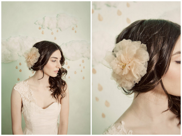 Fabric Hair Flowers For Brides BUY Or DIY?