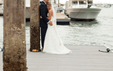 Nautical, Preppy Chic California Wedding