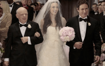 The Gossip Girl Wedding: Vera Wang, Blush Pink & Dodgy Hair