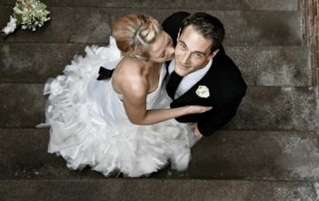 A Chic Danish Wedding: Braids, Ruffles & DIY Bouquets