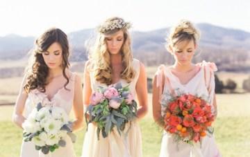 Bohemian Bridal Tea Party Inspiration Shoot