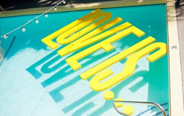 Modern, Bright & Typographic Palm Springs Wedding Part 1