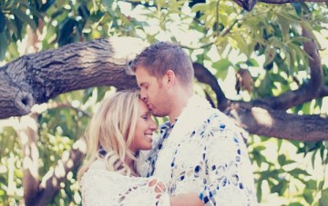 Vintage LA Styled Engagement Shoot: Cowboy Boots and Baby's Breath
