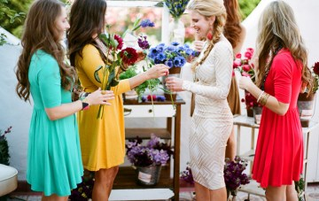 Chic, Creative & Colourful Bridal Shower Ideas
