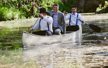 Geeky, Rustic, Summer Camp Wedding In The Woods Part 2