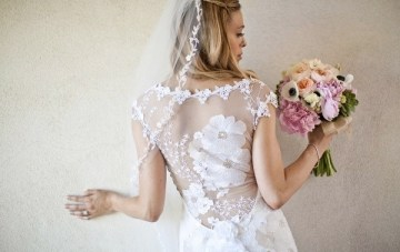 Wedding Dress Of The Week: Orange Blossom By Claire Pettibone