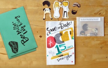 Quite Possibly The Cutest & Craziest Save The Dates EVER