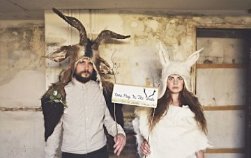 'Where The Wild Things Are' Wedding Shoot + A Most Curious Wedding Fair