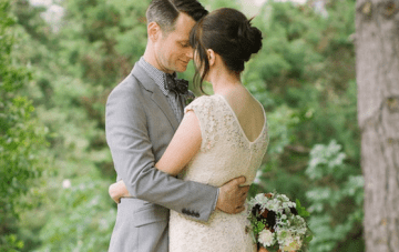 Chic & Intimate Grey, Mint Green & Red Wedding Part 2